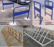 Велосипедные парковки,  велопарковки,  вело-мото парковки,